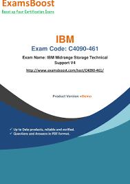 ibm c4090 461 certification exam practice dumps