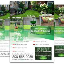 the lawn market lawn care marketing websites lawn care flyer design 3
