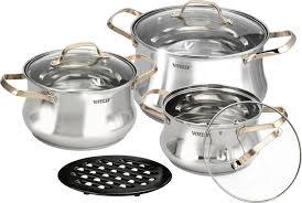<b>Набор посуды</b> VITESSE VS-2083, <b>7 предметов</b>