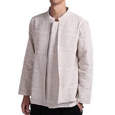 <b>vintage</b> chinese style linen <b>loose spring</b> autumn shirts coat at ...