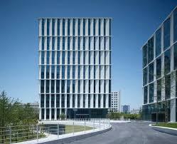 design of office building. 3cubes office building gmp architekten design of p