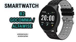 <b>GOCOMMA</b> B2 SMARTWATCH /APRESENTAÇÃO REVIEW ...