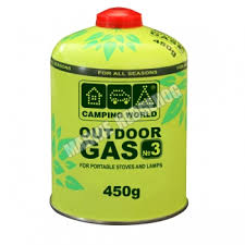 "<b>Газовый баллон</b> ""<b>CAMPING WORLD</b>"" 450гр. - купить в Кировске ..."