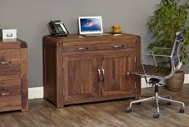 sophisticated walnut hidden home office baumhaus hidden home office