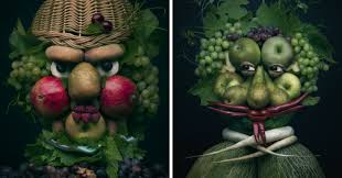 I Use <b>Fruits And</b> Vegetables To Create <b>Realistic</b> Looking Portraits ...