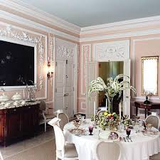 kitty otoole elegant whimsical bedroom:  images about color pink rooms i love on pinterest pink dining rooms pink walls and living rooms