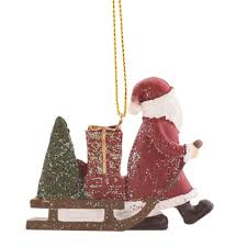 <b>Украшение ёлочное</b> «Сани <b>Деда Мороза</b>», 7.5 см в Москве ...
