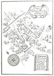 characters setting theme winesburg ohio and olive map of winesburg ohio