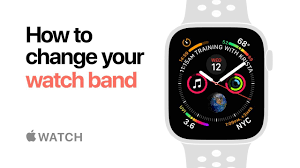 Apple Watch Series 4 — How to change your <b>watch band</b> — <b>Apple</b> ...