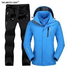 <b>THE ARCTIC LIGHT</b> Women Outdoor Ski Jacket Suits <b>Hiking</b> ...