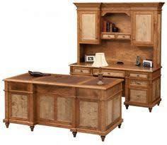 solid wood bridegport desk suite amish built handcrafted from curly maple and tiger maple amish built home office