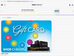 Shoe Carnival   Gift Card Balance Check   Balance Enquiry, Links ...