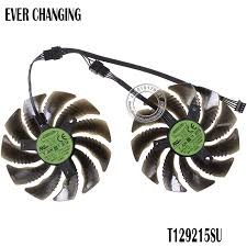 <b>88MM T129215SU PLD09210S12HH 12V</b> 4Pin Cooling Fan For ...