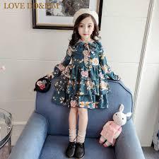 LOVE DD&MM Girls Dresses 2019 Summer <b>New Children's</b> ...