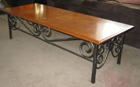 Iron Coffee Tables Custom Made Wrought Iron Coffee Table By Mciron Custommadecom