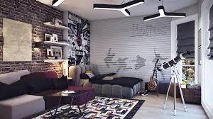 bedroom feature wall aa brick