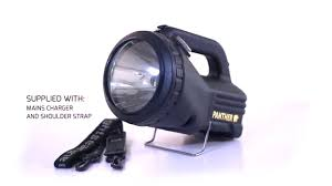 NightSearcher Panther XHP <b>LED Rechargeable Searchlight</b> Torch ...