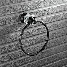 Beelee Wall Mount Bathroom <b>Black Oil Rubbed Bronze</b> Brass