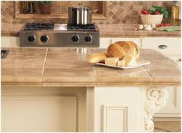 Granite Tile Kitchen Kitchen Ceramic Tile Kitchen Countertops Ideas Step 3 Diy