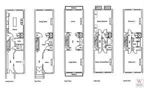New York Luxury Townhouse Floor Plans  new york townhouse floor    new york townhouse floor plans
