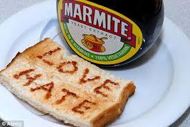 Marmite love/hate