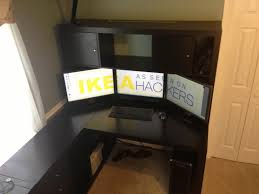 georgeous ikea desk with hutch amazing diy home office