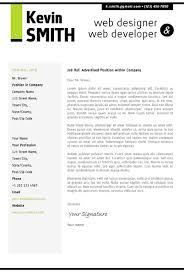 web developer cover letter web developer cover letter good luck    web developer resume cover letter