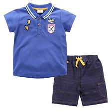 CHAOSHUO <b>Toddler Boys</b> Shorts Sets <b>Polo</b> T <b>Shirts Cartoon</b> Cotton ...