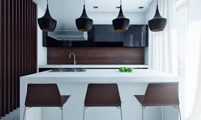 Contemporary Galley Kitchen Stunning Small Modern Galley Kitchen With Black Color Kitchen
