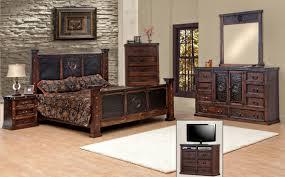 brilliant king size copper creek western set dark bedroom stain rustic for rustic bedroom set brilliant king size bedroom furniture