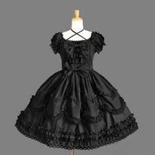 Lolita Polyester <b>Solid</b> Dresses for Women for <b>sale</b> | eBay