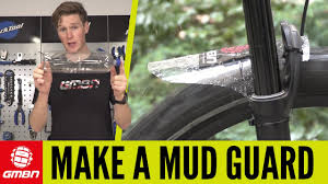 How To Make A <b>Mudguard</b> For Your <b>Mountain Bike</b> | <b>MTB</b> ...