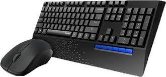 Комплект мышь + клавиатура <b>Rapoo X1960</b>, <b>черный</b> — купить в ...