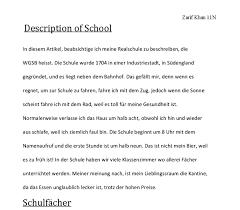 german  description of my school    gcse modern foreign languages    document image preview