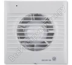 <b>Вытяжной вентилятор Soler&Palau</b> Decor 100C 03-0103-001 ...