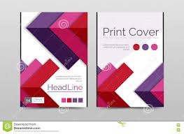 geometric brochure front page stock vector image 73599037 geometric brochure front page