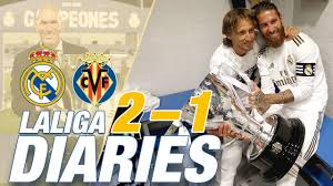 <b>Real Madrid</b> 2-1 Villarreal | LaLiga CHAMPIONS 2019/20!