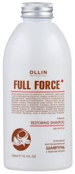 OLLIN Professional шампунь Full Force Restoring <b>Интенсивный</b> ...