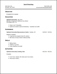 oci sample resume