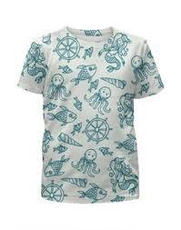 """Детские футболки c неординарными принтами """"ракушка ..."""