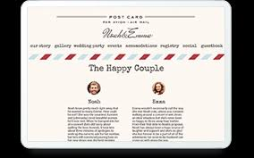 wedding websites choose from 600 designs mywedding com retro