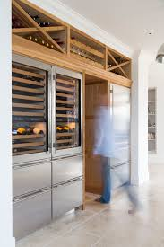 refridgerator wine wine refrigerator in kitchen kitchen pantry refrigerator drawers kitchen cupboards cabinets storage oak cold storage baumhaus wine rack lamp table
