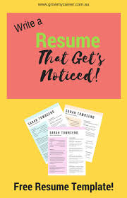 17 best ideas about resume resume template resume template get a job interview this professional resume template write a