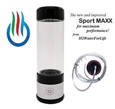 H2 USB Sport MAXX <b>Portable Hydrogen Water Generator</b> with Glass ...