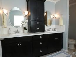 f astonishing double vanities design ideas for small bathroom of the looks two tones black and white bathroom vanity cabinets with wall mount oval mirror black and white bathroom furniture