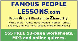 Famous People Lessons: English Lesson on Martin Luther King