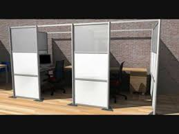room divider modern modular wall partitions for home and office partitions youtube cheap office partitions