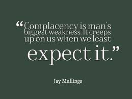 Image result for complacency