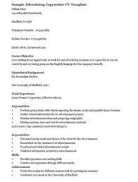 advertising copywriter resumeadvertising copywriter resume template