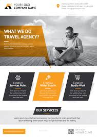 corporate flyer ad template by graphicshape graphicriver corporate flyer ad template